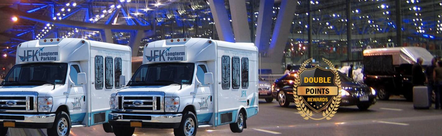 JFK Long Term Parking Van